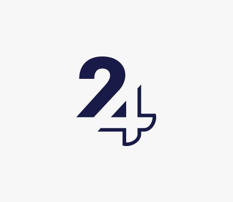 iMED24 logo design