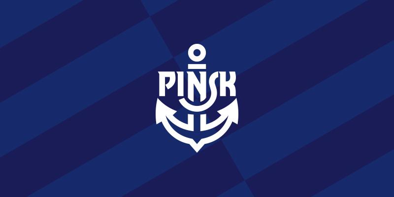 Kotwica Pińsk logo branding