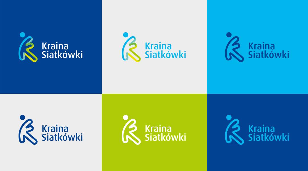 Kraina Siatkówki logo branding