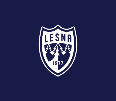 Leśna logo design by Kuba Malicki