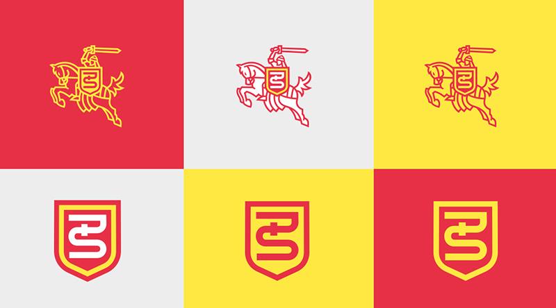 Pogoń Świebodzin logo branding