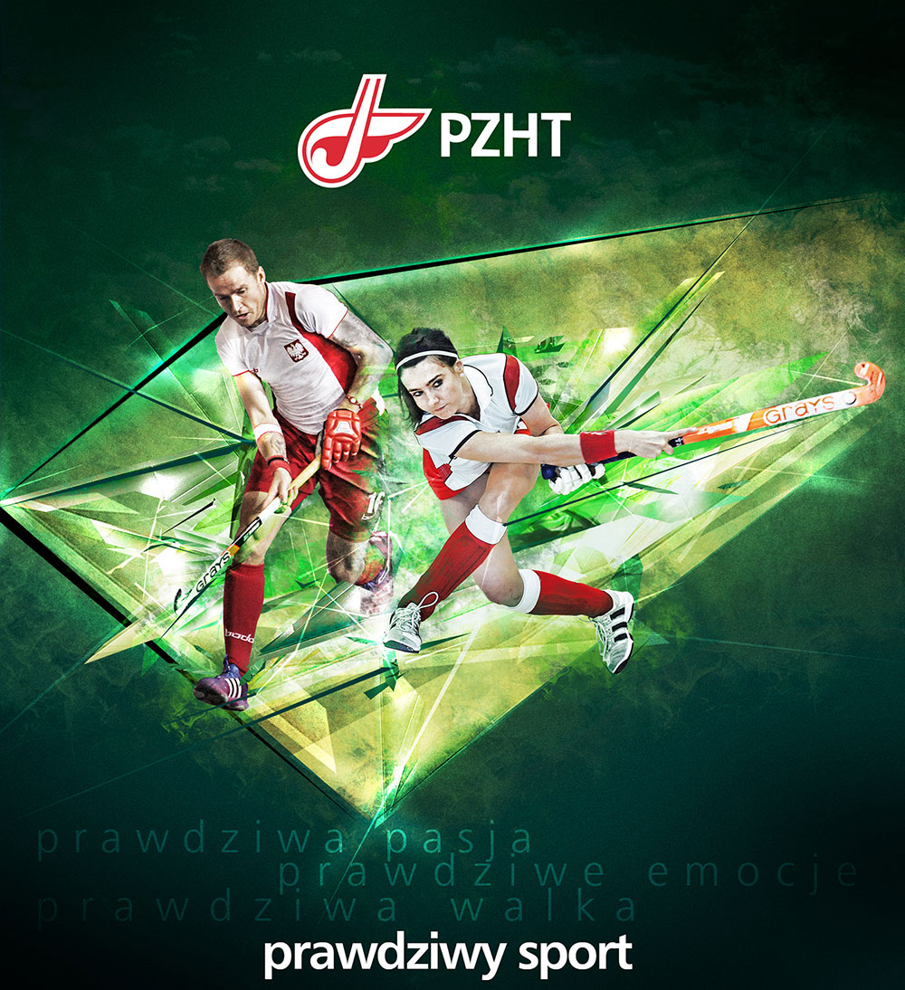 Polish Hockey logo branding