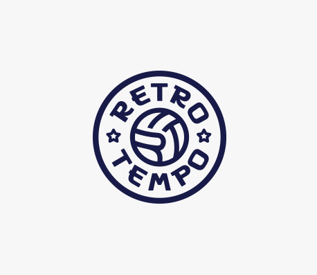 Retro Tempo Walking Football logo