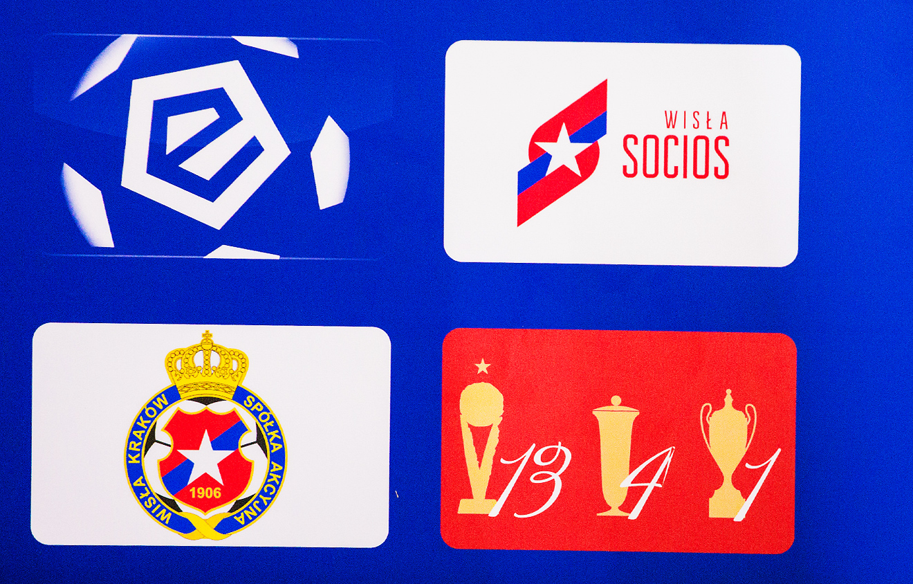 Socios Wisla Krakow logo creation