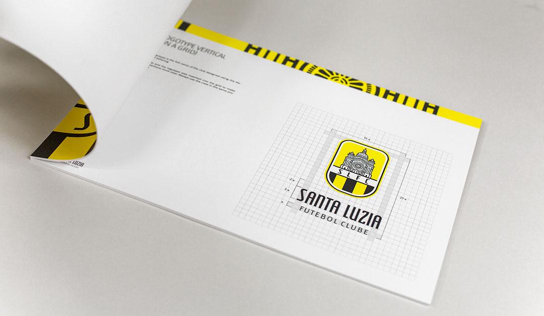 Santa Luzia FC logo design