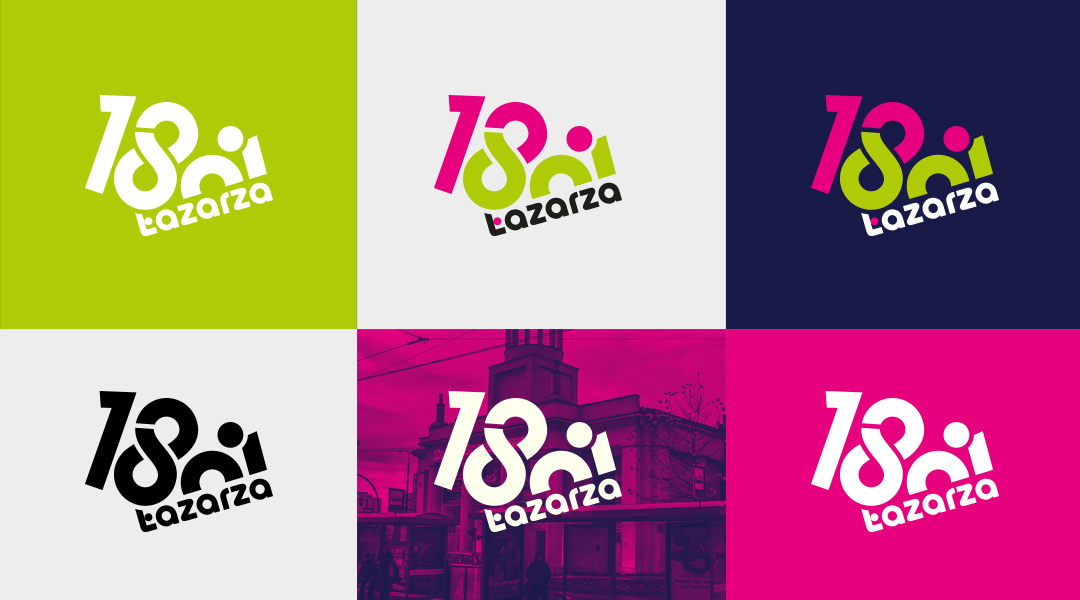 18. Dni Łazarza logo design