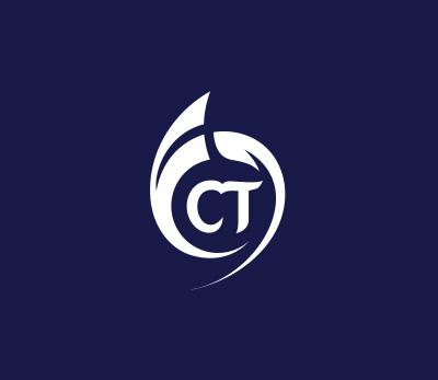 Ct Chemie technik logo design