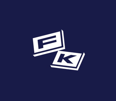 Fightklub logo design by Kuba Malicki
