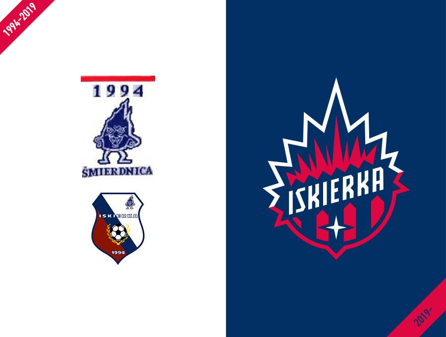 Iskierka Szczecin logo design