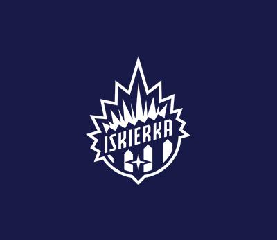 Iskierka Szczecin logo design by Kuba Malicki