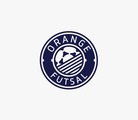 Orange Futsal logo design