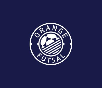 Orange Futsal logo design by Kuba Malicki