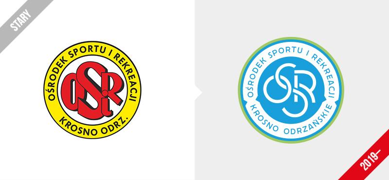 OSiR Krosno Odrzańskie logo branding