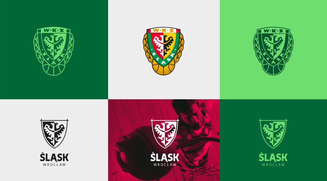 Śląsk Wrocław Basketball rebranding