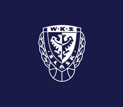 Śląsk Wrocław Basketball logo design by Kuba Malicki