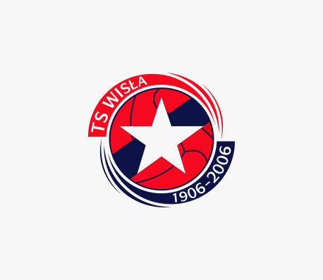 Wisla Krakow 100-years anniversary logo