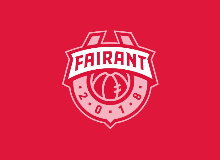 SF Fairant Kraków logo design sport crest
