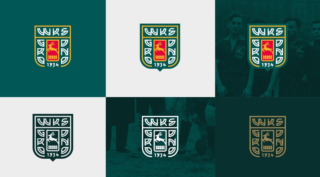 WKS Grodno crest design