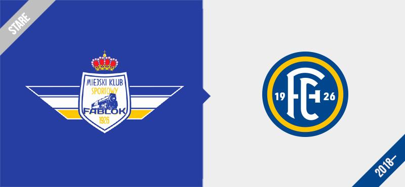 Fablok Chrzanów logo redesign