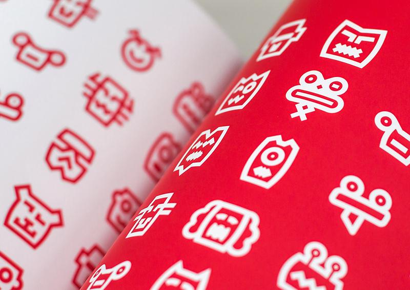 Hello'Maya logo branding