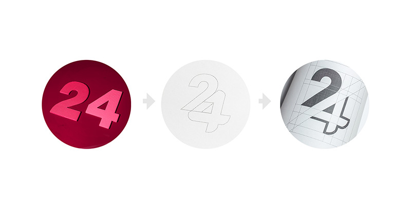 iMED24 logo branding