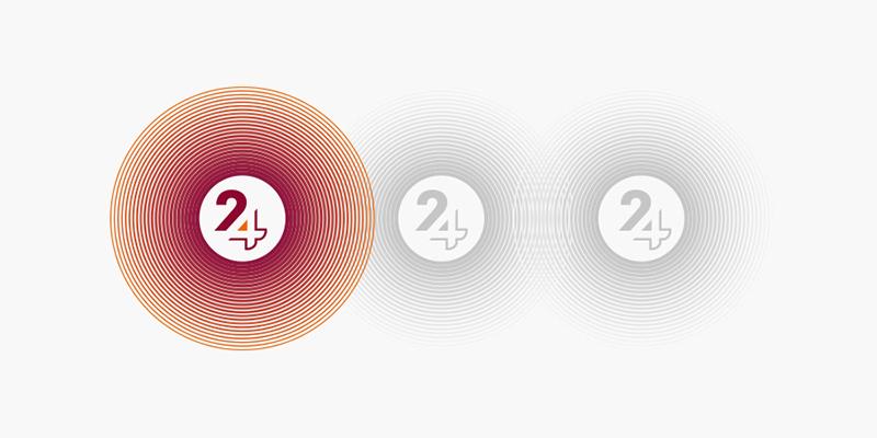 iBard24 logo branding