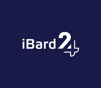 iBard 24 logo design by Kuba Malicki
