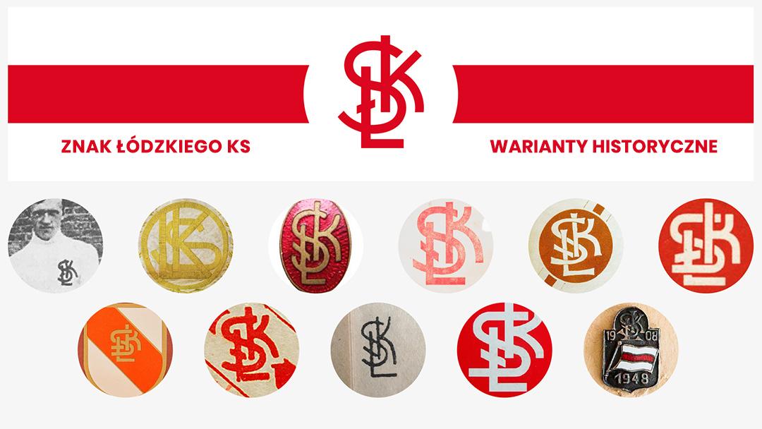 ŁKS logo branding