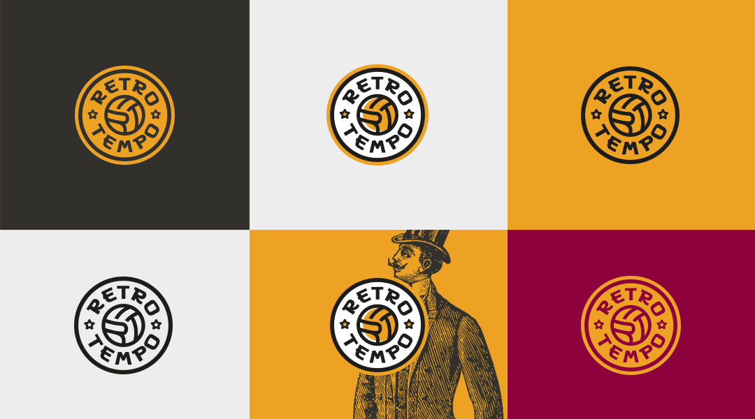 Retro Tempo Walking Football logo