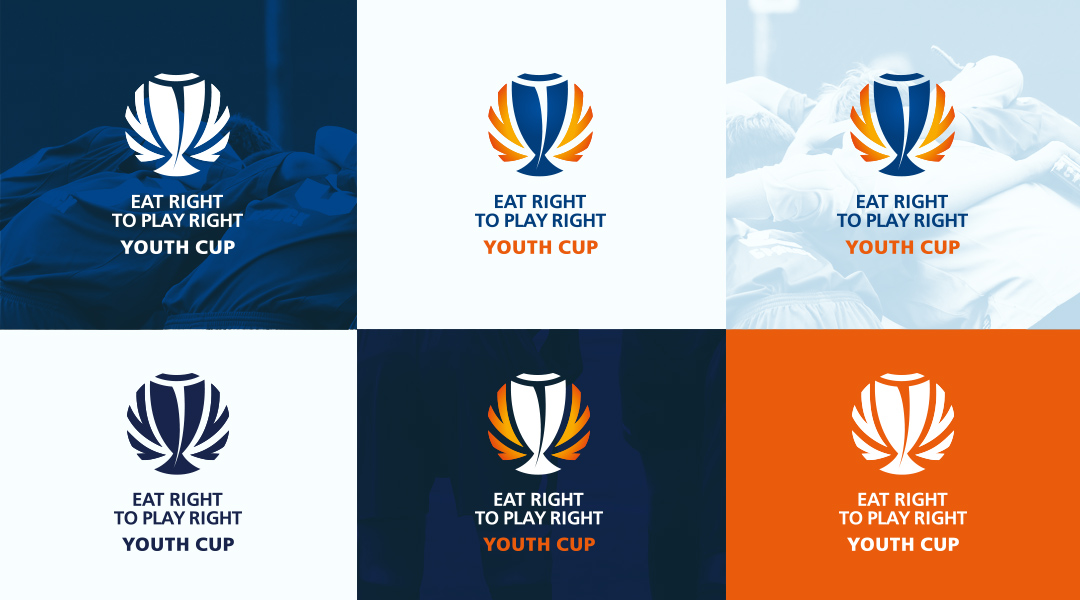 Eat Right to Play Right tournament logo