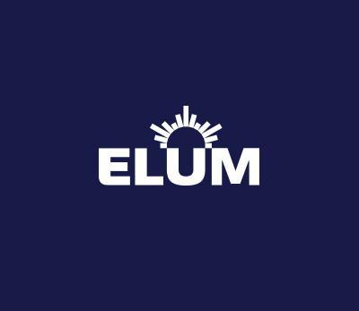 Elum 24 logo design
