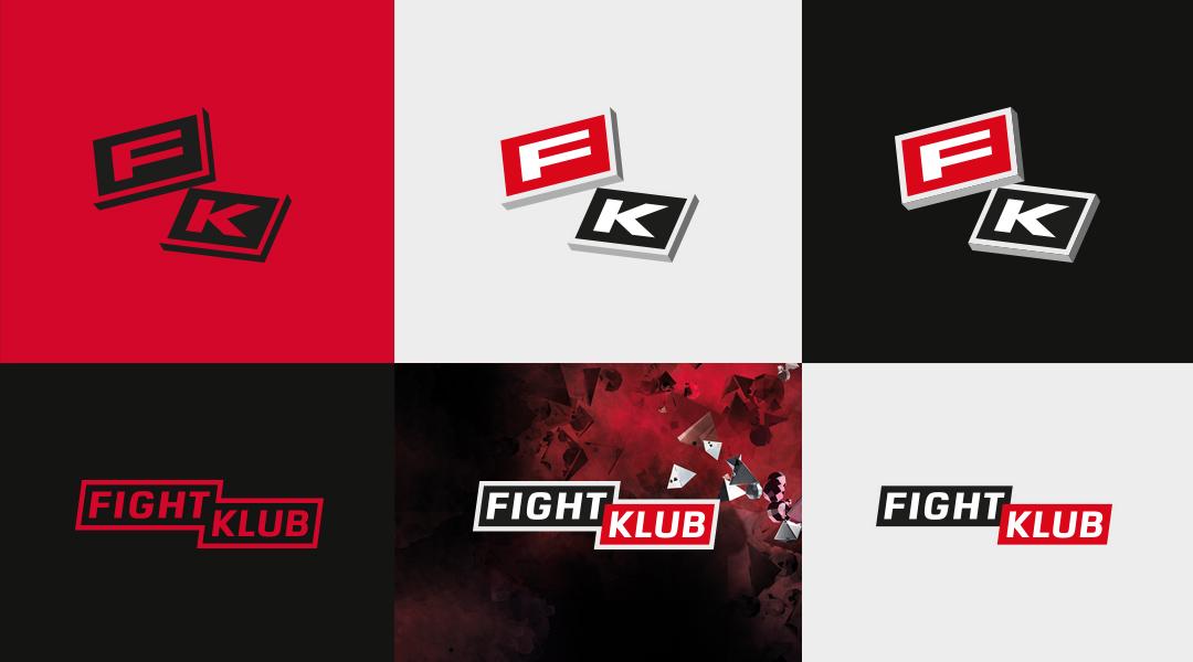 Fightklub logo design