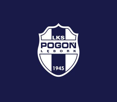 Pogoń Lębork logo design