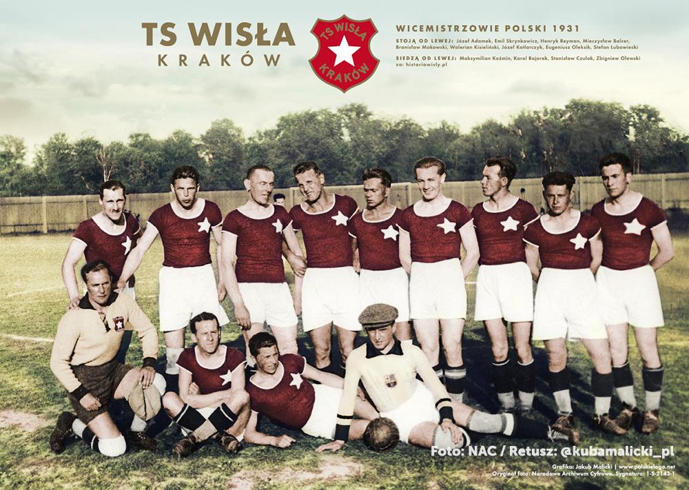 Wisła Kraków historical pic