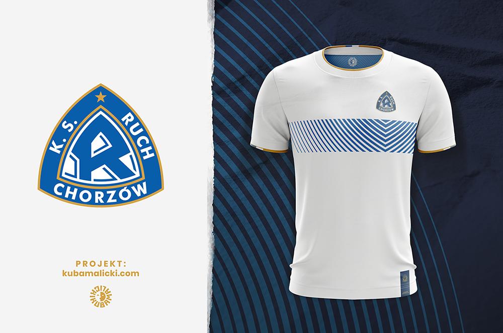 Ruch Chorzów new crest design