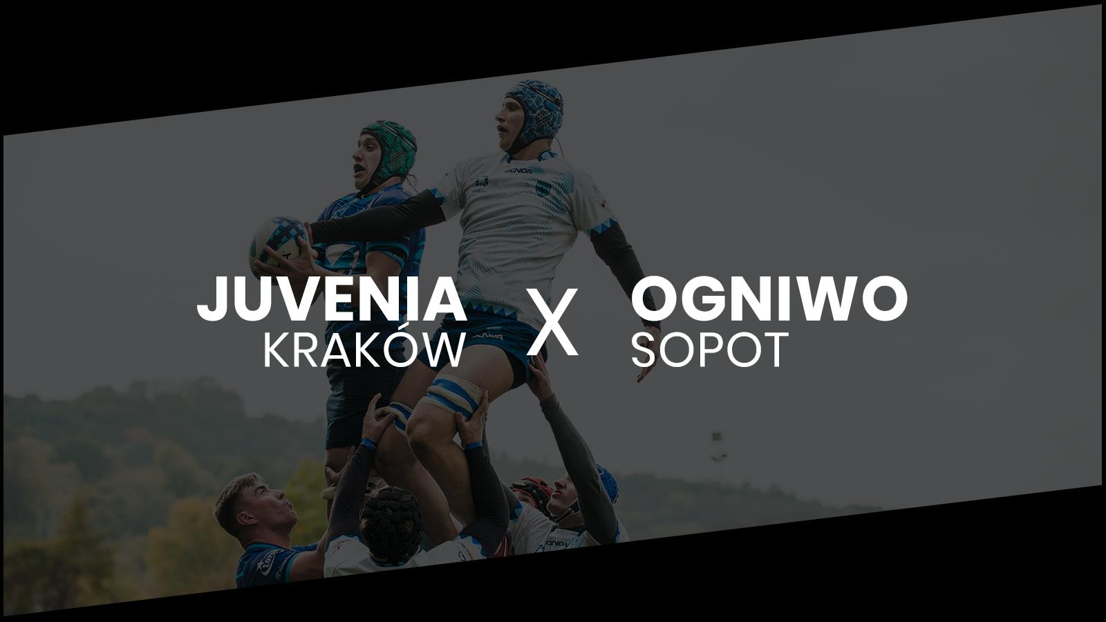 Juvenia Kraków - Ogniwo Sopot Ekstraliga Rugby 2021/22 Foto: Kuba Malicki
